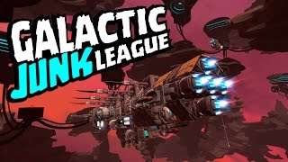 Обзор Galaxy Junk League | Бои в космосе | Бета-версия