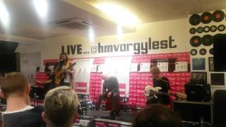 Biffy Clyro - Re-arrange acoustic live @ HMV Glasgow