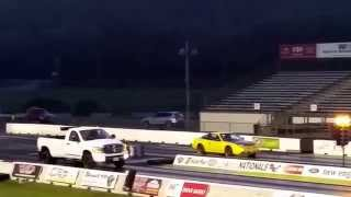 Street Racing Night on the Drag Strip New England Dragway Part 4