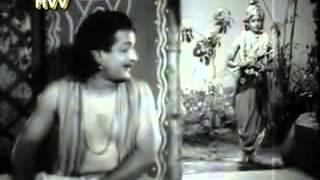 ntr sees lord krishna in ntr pandu ranga mahatyam   YouTube