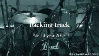 backing track melodic rock - E Flat Tuning in E minor jamtrack