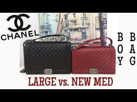 5114e3617f2ab 3 CHANEL Boy Bag Comparison    Small v. Old Med v. New Med - Action ...