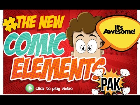 Comic Elements from Laughingbird Software