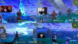 BEST FORTNITE REACTION! TO THE FORTNITE 🚀 ROCKET LAUNCH 🚀!
