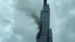 Cháy tòa nhà Landmark 81 chiều 11/8/2018 (thông tin chính thức)