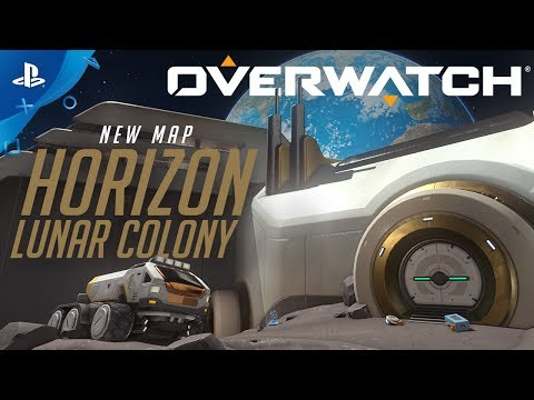 Overwatch – New Horizon Lunar Colony Map | PS4