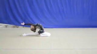 Саша Петрунина — Защита разряда (3 юношеский разряд по художественной гимнастике) г. Чебоксары