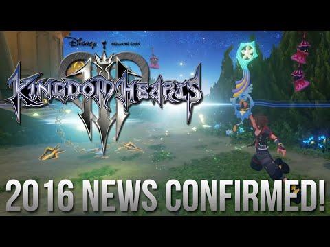 Kingdom Hearts 3 2016 News CONFIRMED! Development Update!