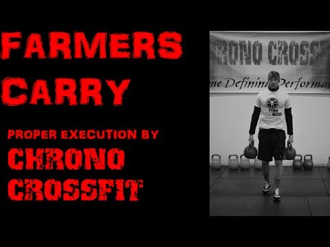 CrossFit Farmers Carry- Demonstrated by Chrono CrossFit