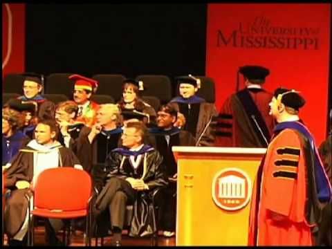 University of Mississippi 2013 Doctoral Hooding (part 2)