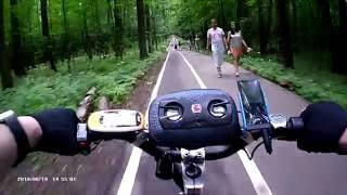 Покатушки на электросамокате Headway-3, Измайловский лесопарк.Съёмка на камеру HD1080P из Китая(, 2016-06-28T17:40:20.000Z)