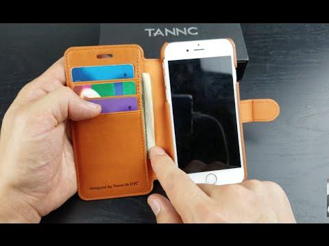 the latest 23078 6b174 Tannc Premium Wallet Case Review: iPhone 6/6s, 7 & Plus's!
