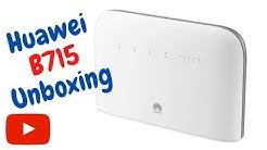 Huawei B715 unboxing!