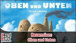 [Rezension] Oben und Unten | Schwerkraft Verlag | Brettspiel