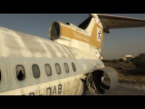 Forgotten in Time-Cyprus Airways HS-121 Trident | Walkaround, Cockpit and Cabin