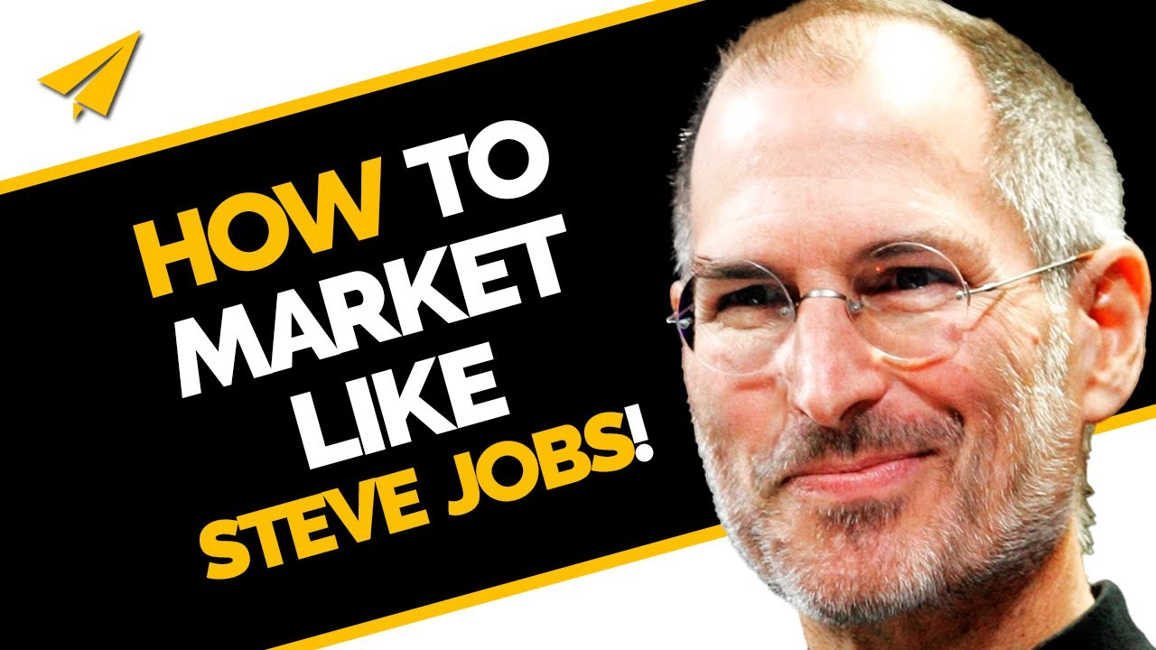 steve jobs 39 amazing marketing strategy must watch youtube. Black Bedroom Furniture Sets. Home Design Ideas