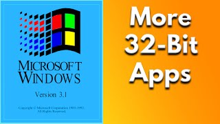 More 32-Bit Software for Win32s
