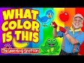 What Color is This? 🐰 Color Song for Kids 🎈 Kids Phonics Songs 🐻 Kids Songs The Learning Station