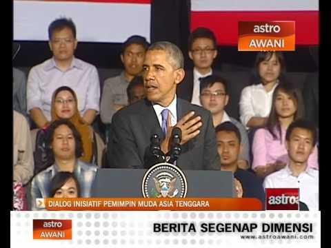Dialog inisiatif pemimpin muda Asia Tenggara bersama Obama