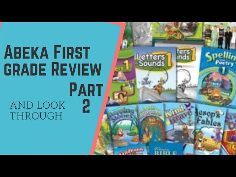 Abeka 1st grade curriculum, science, history, community helper,health. Look through and review