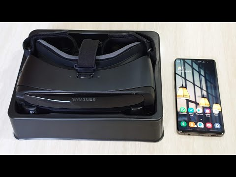 Samsung Galaxy S10 Plus & Gear VR With Controller