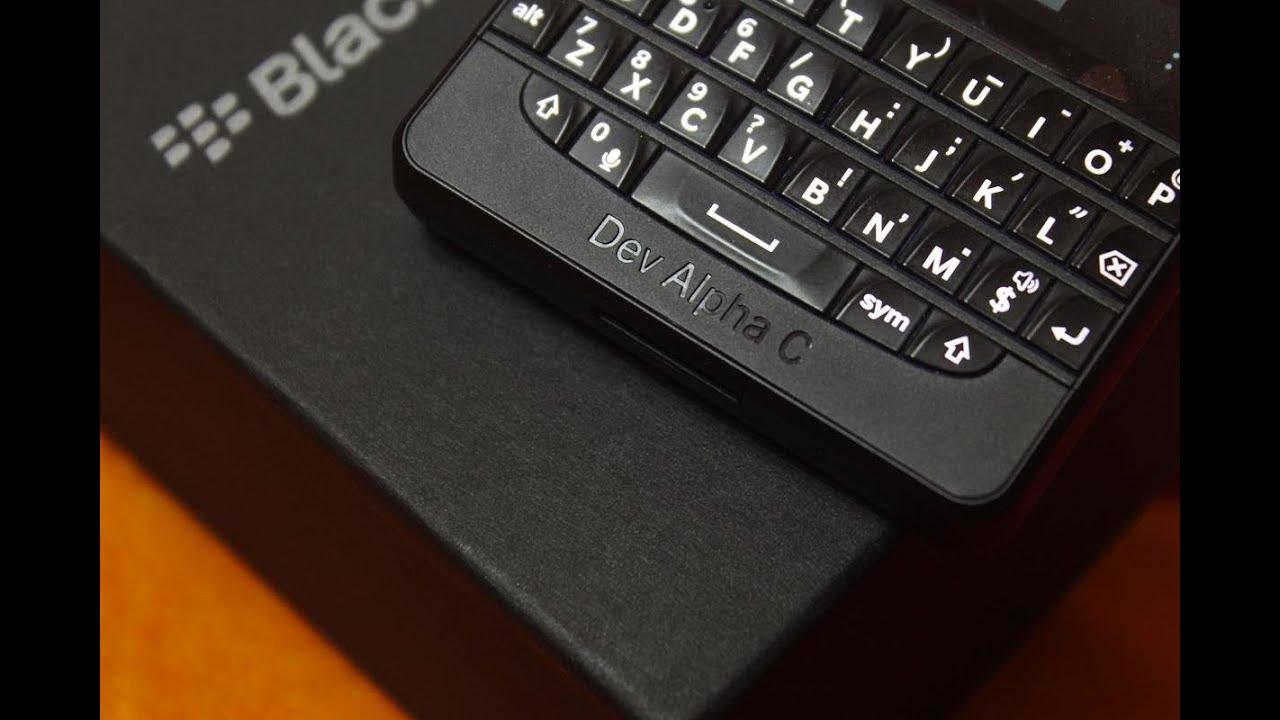 Unboxing BlackBerry 10 Dev Alpha C Developer device (India)