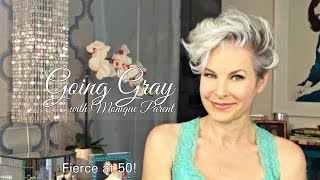 """How to Style """"Fierce"""" Hair When Growing Out an Undercut or Pixie"""