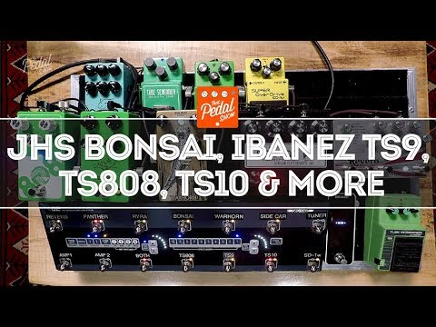 Tube Screamers: TS808, TS9 & TS10, JHS Bonsai, Walrus, RYRA & Hudson – That Pedal Show