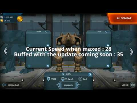 Walking War Robots - Speed buff coming soon (Android test server 2/3 of July 2016)
