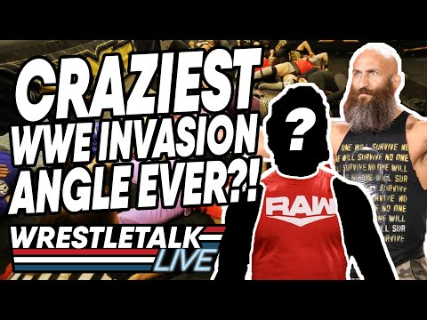 CRAZIEST WWE Invasion Angle Ever?! WWE NXT Nov. 20, 2019 Review | WrestleTalk Live