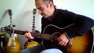 Eddy Mitchell - Il ne rentre pas ce soir - Fingerstyle Version