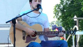 """Big Green Tractor"" Jason Aldean cover by Jacob Green"