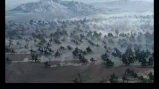 我最喜愛的場景之一.諸葛亮奇門八卦陣大戰司馬懿混元一氣陣.