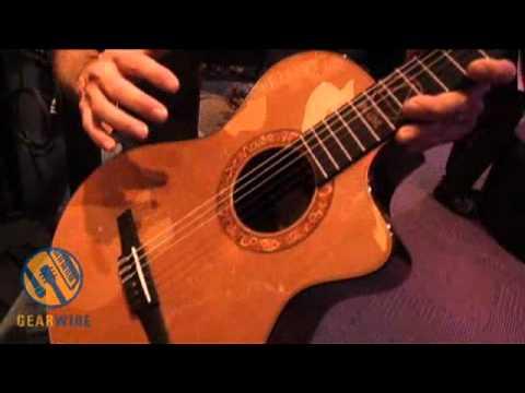 Taylor Jason Mraz Signature NS Acoustic-Electric: Not Quite Classical (Video)