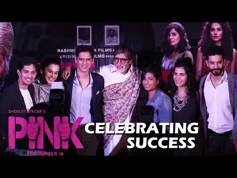 Pink Movie Success Press Conference | Amitabh Bachchan, Taapsee Pannu, Shoojit Sircar