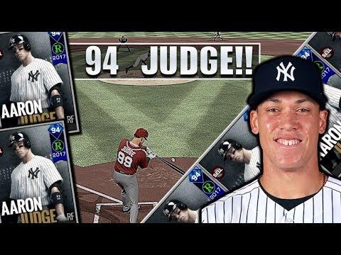 94 Aaron Judge MLB 18 pre-order debut! Diamond Boyz #1234 MLB 17 The Show Diamond Dynasty!