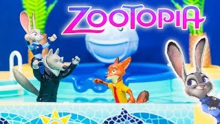Zootopia Pool Party Problems Officer Judy Hopps Funny Toy Parody