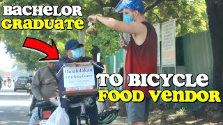 """INDIAN ACCENT"" PRANK to FILIPINO ""FOOD Bicyclist VENDOR"" 🙏 (Will Make You CRY) 🇵🇭"