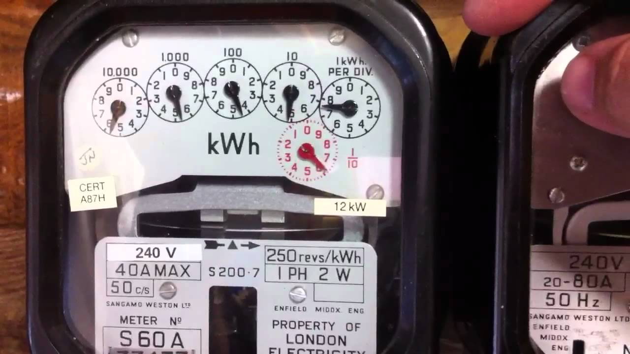Sangamo Electric Meter Wiring Diagram - Somurich.com
