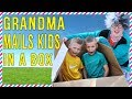 IT WORKED!!  Silly Grandma Mails Kids By Accident In Real Life!!