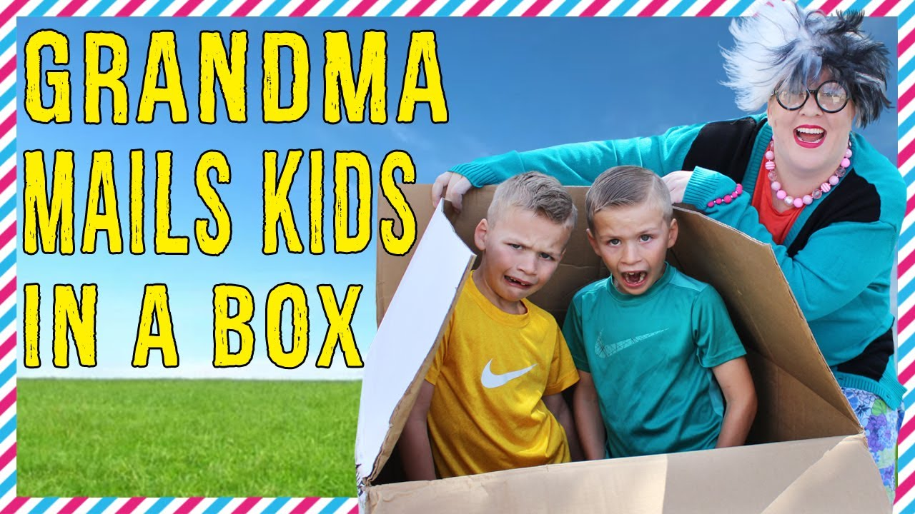 IT WORKED!!  Silly Grandma Mails Kids By Accident!!
