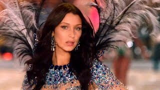 Bella Hadid on the Victoria's Secret Fashion Show Runway 2016