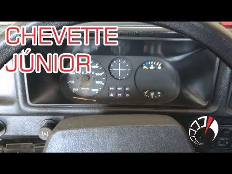 Chevrolet Chevette Júnior 1992. Velocímetro Danificado