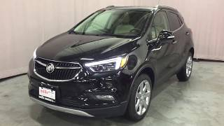 Ebony Twilight Metallic 2019 Buick Encore AWD 4dr Essence Review Oshawa null - Mills Motors Buick GM