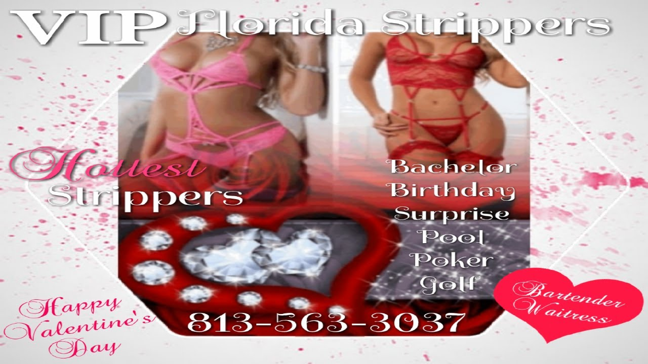 Valentine's Day 2021 Strippers | Tampa, FL | Bachelor + Birthday + Surprise + Bartender + Waitress