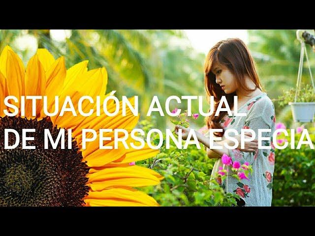 ¿Cómo es la situación actual de mi persona especial? 🤔