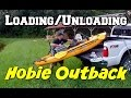 """How I Load/Unload my Hobie Outback~""""One Man Show"""""""