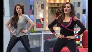 HOT Sexercise Liza Natalia Bareng Olla Ramlan Bikin Omesh Seneng
