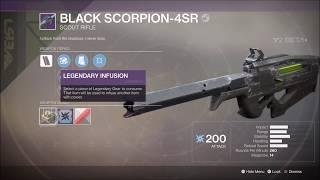 Destiny 2 Black Scorpion 4SR Legendary Scout Rifle Gameplay
