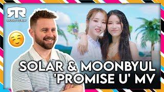 SOLAR (솔라) MOONBYUL (문별) - 'Promise U' MV (Reaction)